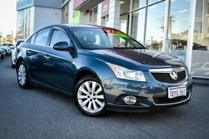2012 Holden Cruze JH Series II MY12 CDX Grey 6 Speed Sports Automatic Sedan