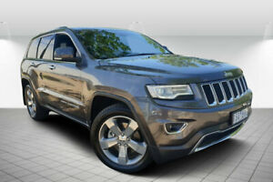 2013 Jeep Grand Cherokee WK MY13 Limited (4x4) Grey 5 Speed Automatic Wagon Golden Square Bendigo City Preview