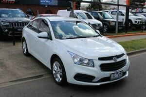 2015 Holden Cruze JH MY15 Equipe White 6 Speed Automatic Sedan Hoppers Crossing Wyndham Area Preview