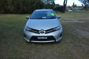 2013 Toyota Corolla ZRE182R Ascent S-CVT Silver 7 Speed Constant Variable Hatchback East Maitland Maitland Area Preview
