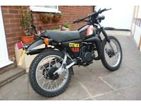 Yamaha DT 125 MX 1981. Looking to sell no swaps. It is a 125cc with a 175cc top end and piston.