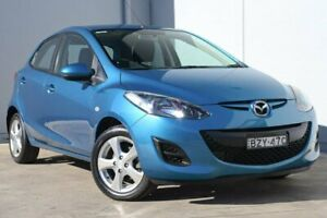 2011 Mazda 2 DE10Y1 MY11 Neo Blue 5 Speed Manual Hatchback Liverpool Liverpool Area Preview