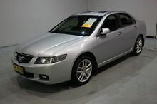 2005 Honda Accord Euro CL Luxury Silver 6 Speed Manual Sedan Old Guildford Fairfield Area Preview