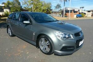 2013 Holden Commodore VF MY14 SV6 Sportwagon Green 6 Speed Sports Automatic Wagon South Gladstone Gladstone City Preview