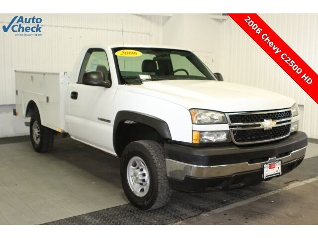 Chevrolet : Silverado 2500 Work Truck Used 2006 C2500 HD Regular RWD, Low Low Miles, and Utility Body Ready for Work