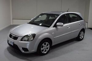 2010 Kia Rio JB MY10 SI Silver 4 Speed Automatic Hatchback Invermay Launceston Area Preview
