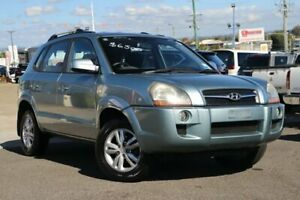 2009 Hyundai Tucson JM MY09 City SX Blue 5 Speed Manual Wagon Moorooka Brisbane South West Preview