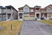 3 Bedroom 3 Washroom Semi detached 2 year old Home for Lease