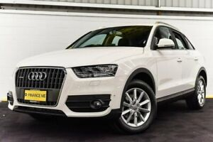 2014 Audi Q3 8U MY14 TDI S Tronic Quattro White 7 Speed Sports Automatic Dual Clutch Wagon Canning Vale Canning Area Preview