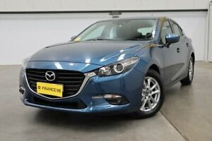 2017 Mazda 3 BN5478 Maxx SKYACTIV-Drive Blue 6 Speed Sports Automatic Hatchback