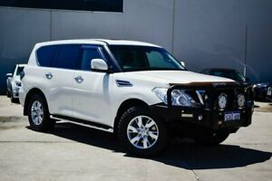 2013 Nissan Patrol Y62 TI White 7 Speed Sports Automatic Wagon Midvale Mundaring Area Preview