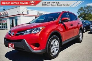 2013 Toyota RAV4 LE AWD with Upgrade Package