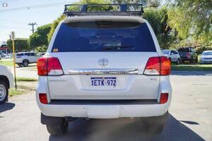 2014 Toyota Landcruiser VDJ200R MY13 Sahara Crystal Pearl 6 Speed Sports Automatic Wagon