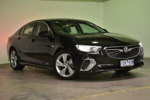 2018 Holden Commodore ZB MY18 RS-V Liftback AWD Mineral Black 9 Speed Sports Automatic Liftback