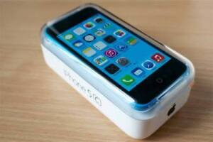 Mint Condition Blue IPhone 5c with Accessories and Iring