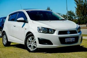 2012 Holden Barina TM White 5 Speed Manual Hatchback Clarkson Wanneroo Area Preview