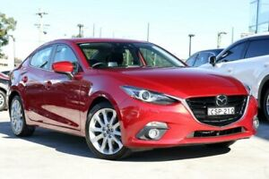 2014 Mazda 3 BM5236 SP25 SKYACTIV-MT Astina Red 6 Speed Manual Sedan Liverpool Liverpool Area Preview