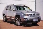 2014 Jeep Compass MK MY15 Limited Silver 6 Speed Sports Automatic Wagon Maddington Gosnells Area Preview