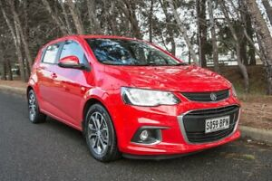 2017 Holden Barina TM MY17 LS Red 6 Speed Automatic Hatchback Reynella Morphett Vale Area Preview