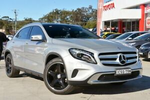 2014 Mercedes-Benz GLA200 CDI X156 Silver 7 Speed Auto Dual Clutch Wagon Gosford Gosford Area Preview