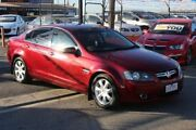 2008 Holden Berlina VE MY08 Dual Fuel Red 4 Speed Automatic Sedan Brooklyn Brimbank Area Preview