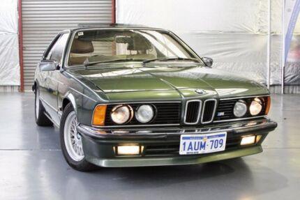 1982 BMW 628CSi E24 Cypress Green 5 Speed Manual Coupe