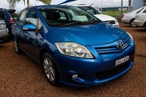 2010 Toyota Corolla ZRE152R MY10 Ascent Blue 4 Speed Automatic Hatchback Minchinbury Blacktown Area Preview