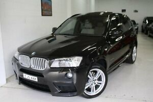 2013 BMW X3 F25 MY0413 xDrive30d Steptronic Black 8 Speed Automatic Wagon Castle Hill The Hills District Preview