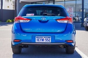 2016 Toyota Corolla Blue Constant Variable Hatchback