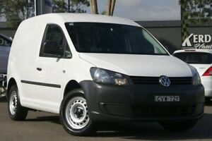 2014 Volkswagen Caddy 2KN MY15 TDI250 SWB DSG White 7 Speed Sports Automatic Dual Clutch Van Condell Park Bankstown Area Preview