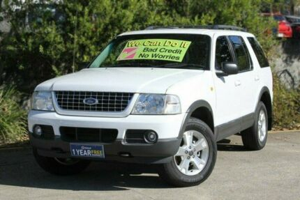 2003 Ford Explorer UX MY2003 XLT White 5 Speed Automatic Wagon Underwood Logan Area Preview