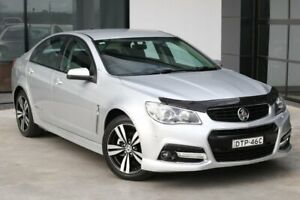 2015 Holden Commodore VF MY15 SV6 Storm Silver 6 Speed Sports Automatic Sedan Liverpool Liverpool Area Preview