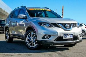 2015 Nissan X-Trail T32 Ti X-tronic 4WD Silver 7 Speed Constant Variable Wagon Cannington Canning Area Preview