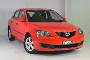 2008 Mazda 3 BK10F2 MY08 Neo Sport Red 4 Speed Sports Automatic Hatchback Wadalba Wyong Area Preview