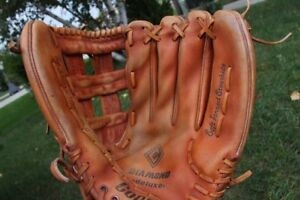 RH leather Baseball Glove Cooper Diamond Delux Soft Tanned
