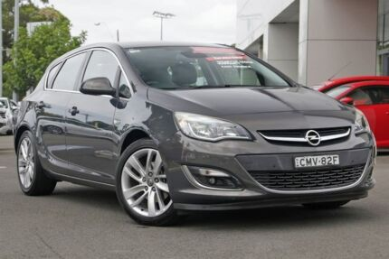 2012 Opel Astra AS Sport Grey 6 Speed Sports Automatic Hatchback