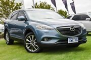 2015 Mazda CX-9 TB10A5 Grand Touring Activematic AWD Blue 6 Speed Sports Automatic Wagon Wangara Wanneroo Area Preview