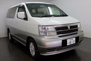 2000 Nissan Elgrand ATWE50 X White Automatic Wagon Cabramatta Fairfield Area Preview
