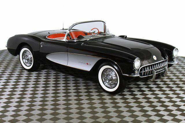 1957 Black Chevrolet Corvette     C1 Corvette Photo 6