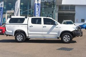 2011 Toyota Hilux KUN26R MY10 SR5 Glacier White 4 Speed Automatic Utility Brookvale Manly Area Preview