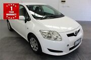 2007 Toyota Corolla ZRE152R Ascent White Automatic Hatchback Mordialloc Kingston Area Preview