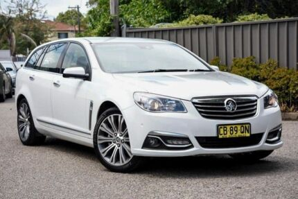 2014 Holden Calais VF MY15 V Sportwagon White 6 Speed Sports Automatic Wagon