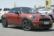 2012 Mini Coupe R58 Cooper S Orange 6 Speed Manual Coupe Pearce Woden Valley Preview