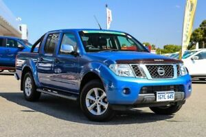 2013 Nissan Navara D40 S5 MY12 ST-X 550 Blue 7 Speed Sports Automatic Utility