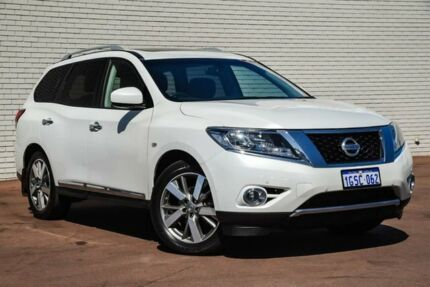 2015 Nissan Pathfinder R52 MY15 ST-L X-tronic 4WD White 1 Speed Constant Variable Wagon Bayswater Bayswater Area Preview