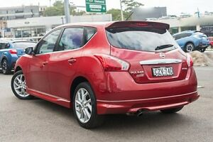 2015 Nissan Pulsar C12 Series 2 SSS Red 1 Speed Constant Variable Hatchback Brookvale Manly Area Preview