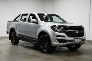 2018 Holden Colorado RG MY19 LS Pickup Crew Cab Silver & Chrome 6 Speed Sports Automatic Utility