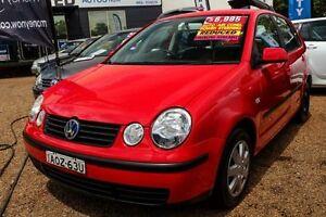 2003 Volkswagen Polo Red Automatic Hatchback Minchinbury Blacktown Area Preview