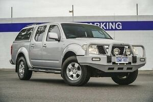 2010 Nissan Navara D40 ST Silver 5 Speed Automatic Utility Maddington Gosnells Area Preview