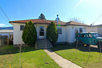 ADORABLE AND AFFORDABLE 3+1 BED HOME WITH LARGE FENCED YARD!
